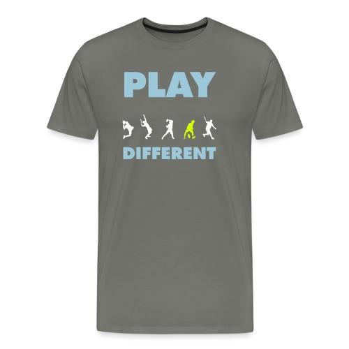 PLAY DIFFERENT 2 - Männer Premium T-Shirt