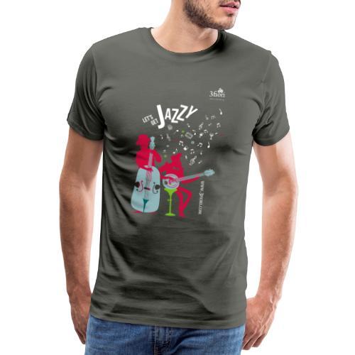 3Jazzy Blumen - Männer Premium T-Shirt