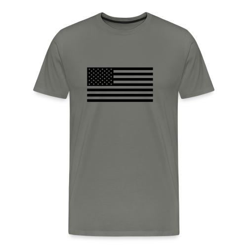 fahne usa - Männer Premium T-Shirt