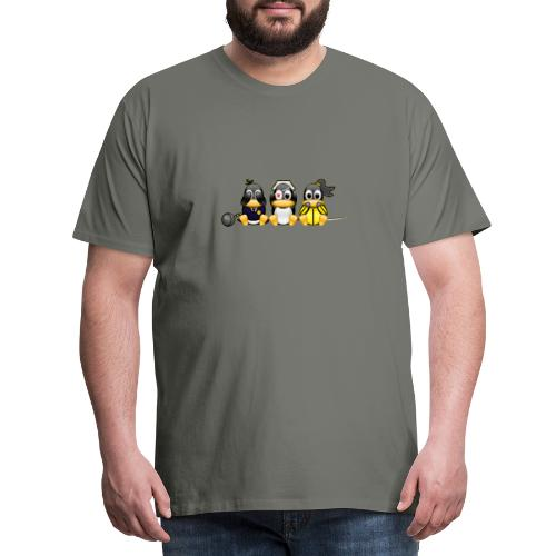Linus v Bill - Men's Premium T-Shirt