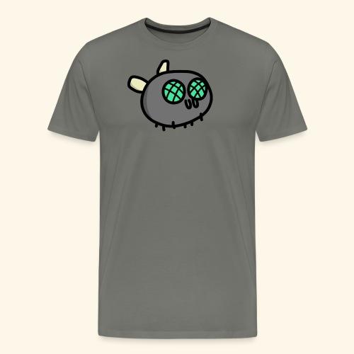 Turquoise Fly - Men's Premium T-Shirt