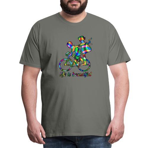 Life is beautiful - Männer Premium T-Shirt