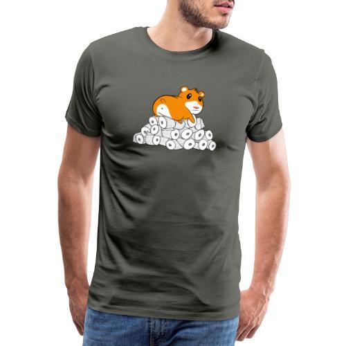 Hamster & Toilettenpapier / Corona Virus / COVID19 - Männer Premium T-Shirt