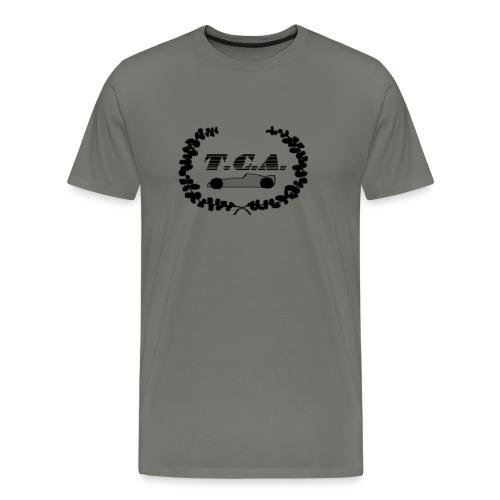 tcalogo schwarz - Männer Premium T-Shirt