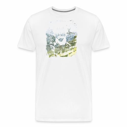 Pablo Escobar distressed - Männer Premium T-Shirt