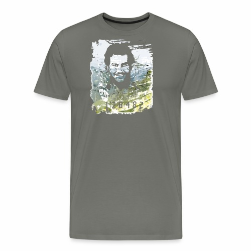 Pablo Escobar distressed - Männer Premium T-Shirt