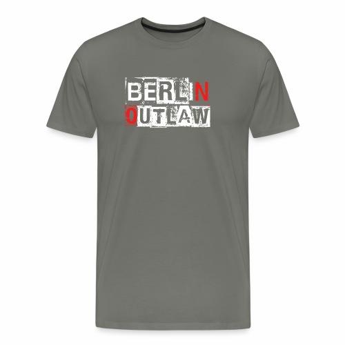 Berlin Outlaw Underground Gangster - Männer Premium T-Shirt