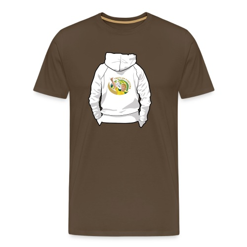hoodyback - Mannen Premium T-shirt