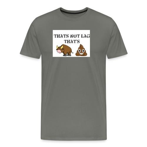 bullshttest - Men's Premium T-Shirt