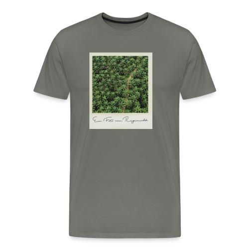 Foto vom Regenwald - Männer Premium T-Shirt