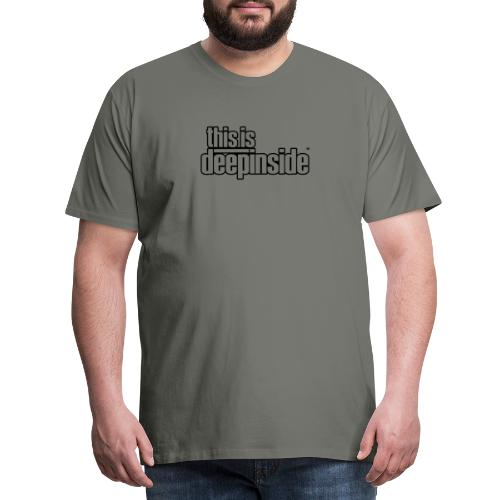 This is DEEPINSIDE logo black - Men's Premium T-Shirt