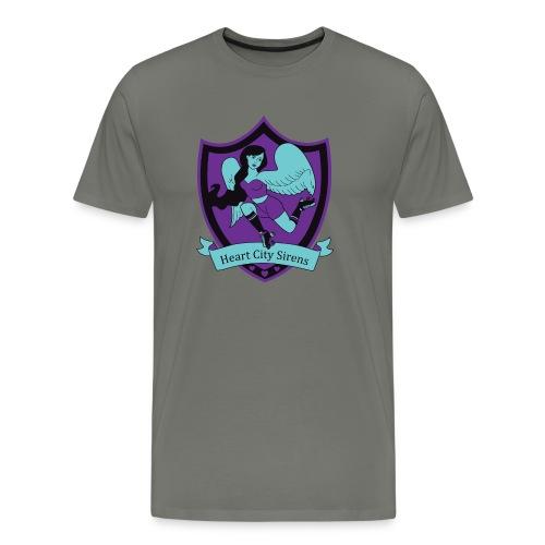 sirens - Premium-T-shirt herr