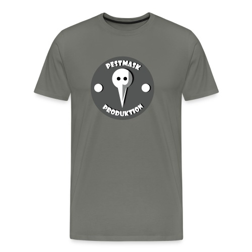 Pestmask Produktion - Premium-T-shirt herr