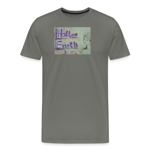 Hollow Earth-T-Shirt mit Bild - Männer Premium T-Shirt