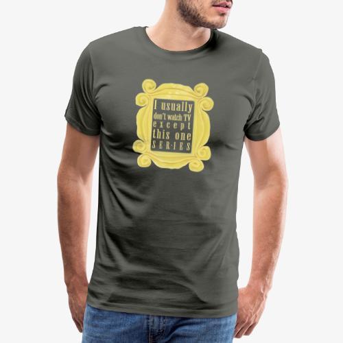 dla tych co lubią serial(e) - Koszulka męska Premium