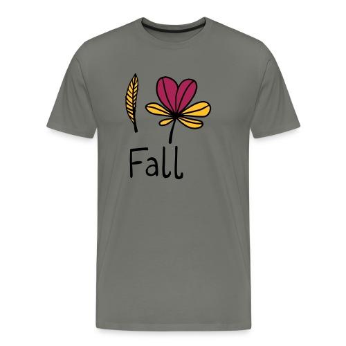 Fall in love - Männer Premium T-Shirt