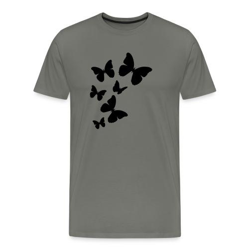 vlinders - Mannen Premium T-shirt