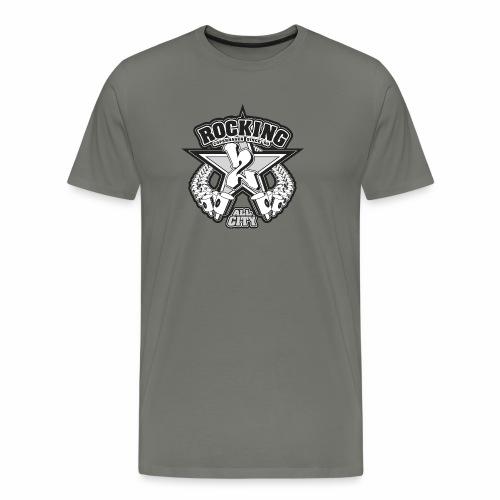 rocking copenhagen 2wear since 00 ver01 - Herre premium T-shirt