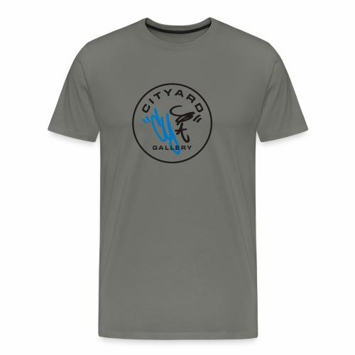 cityard org logo - Herre premium T-shirt