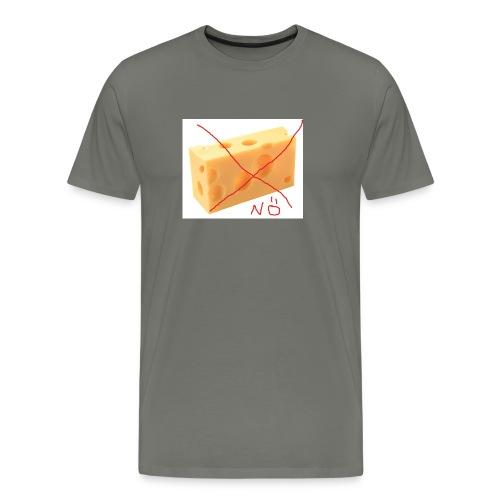 Käse Löcher jpg - Männer Premium T-Shirt