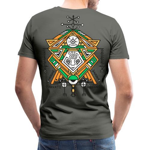 Parvati Records Vegvísir - Men's Premium T-Shirt