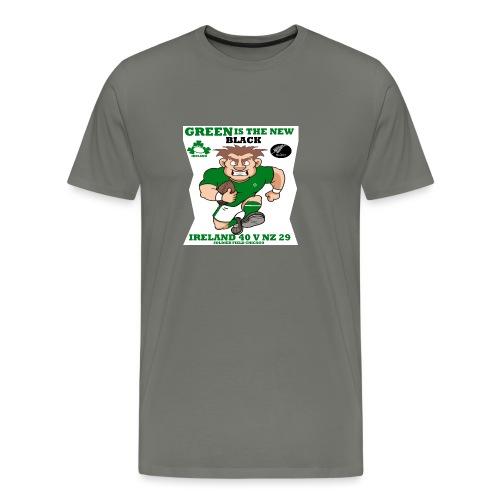 GREEN IS THE NEW BLACK !! - Men's Premium T-Shirt