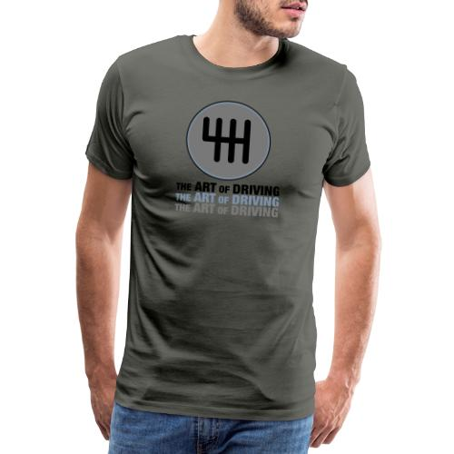 The Art of Driving Gear Nob - Men's Premium T-Shirt