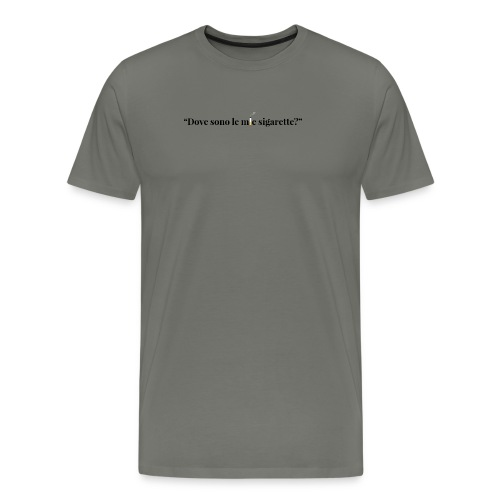 frase_7 - Maglietta Premium da uomo