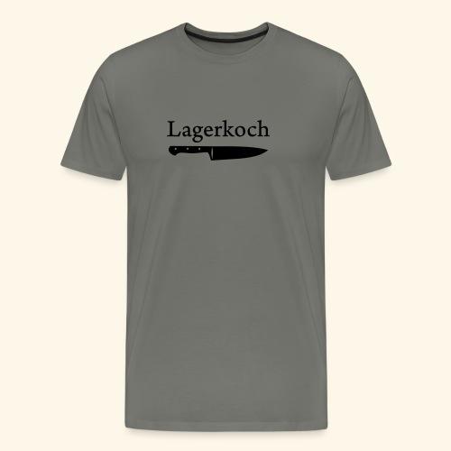 Lagerkoch Messer - Männer Premium T-Shirt