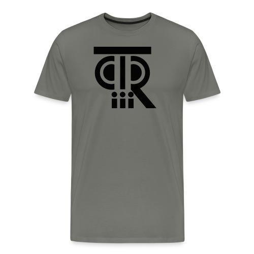 PTR_Logo_png - Männer Premium T-Shirt