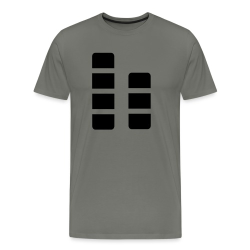 ctylight icon bild - Männer Premium T-Shirt