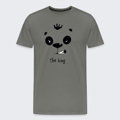 le roi des panda - T-shirt Premium Homme