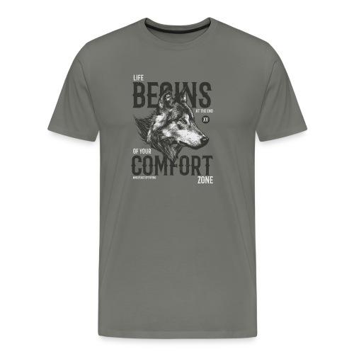 Uscire dalla comfort zone - Maglietta Premium da uomo