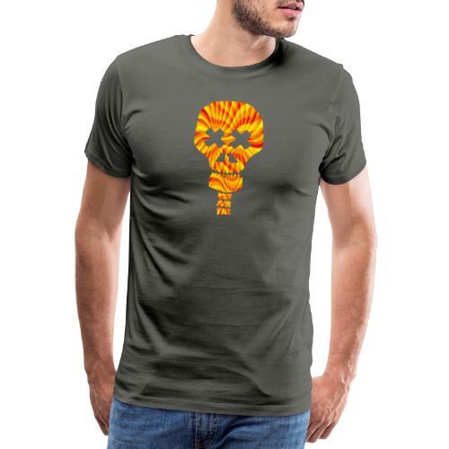 Tête de mort psyché - T-shirt Premium Homme