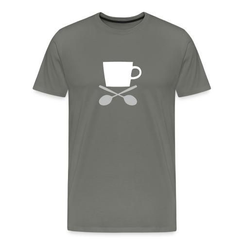 Coffee till I die - Mannen Premium T-shirt