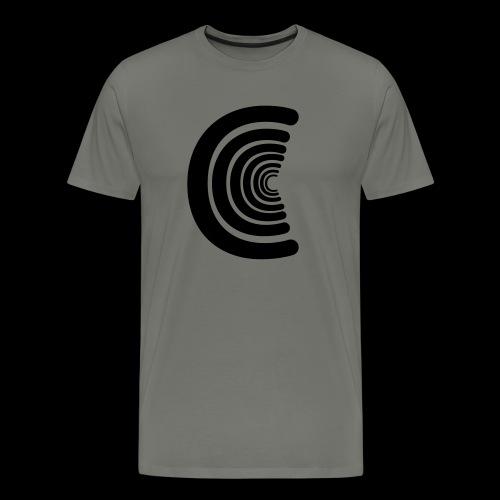 calm logo - Men's Premium T-Shirt