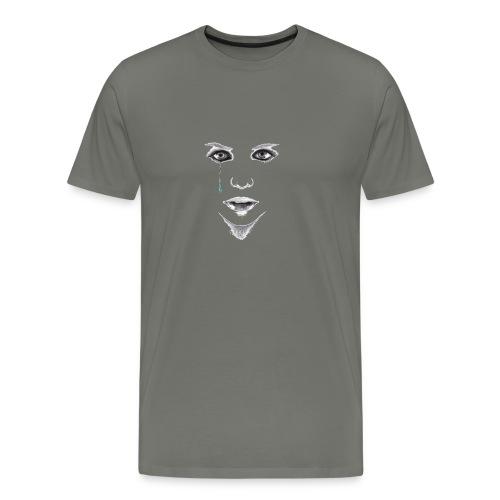 Blue tear - T-shirt Premium Homme