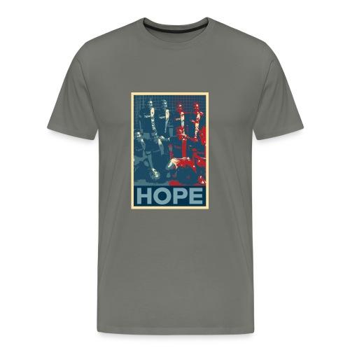 hopelogoteam jpg - Männer Premium T-Shirt