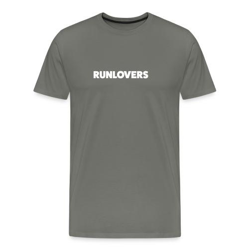 Runlovers Black - Maglietta Premium da uomo