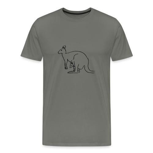 Känguru - Männer Premium T-Shirt