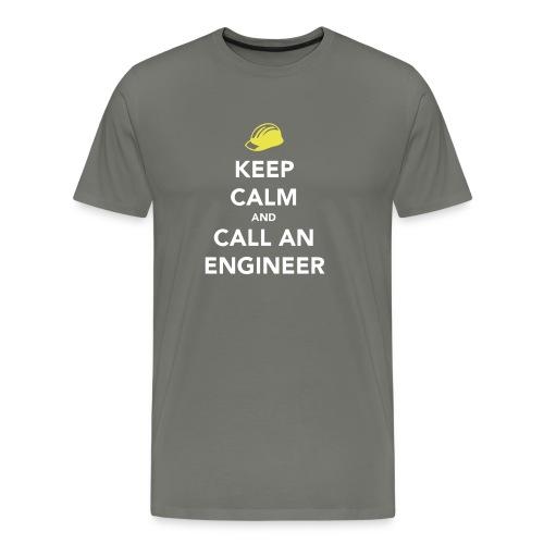 Keep Calm Engineer - Men's Premium T-Shirt