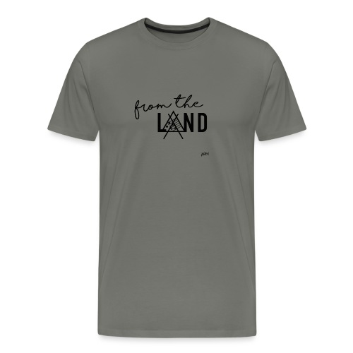 FROM THE LAND // AWEN - Men's Premium T-Shirt