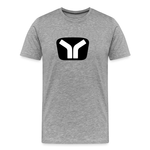 Yugo Logo Black-White Design - Men's Premium T-Shirt