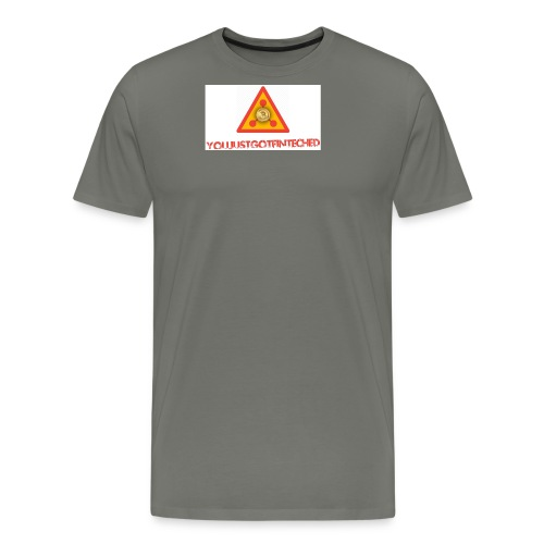 justbeenfinteched jpg - Men's Premium T-Shirt