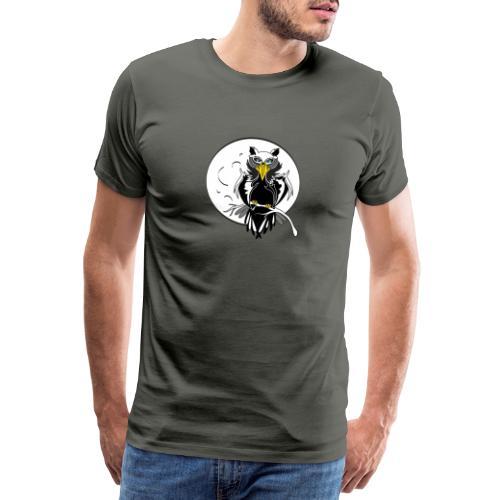 gufo stilizzato - Maglietta Premium da uomo