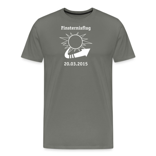 Finsternisflug_2015 - Männer Premium T-Shirt