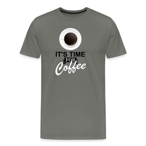 Coffee_time - T-shirt Premium Homme