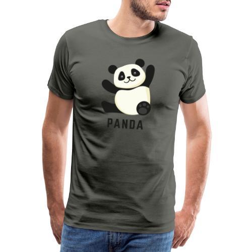 Schattige Panda - Mannen Premium T-shirt