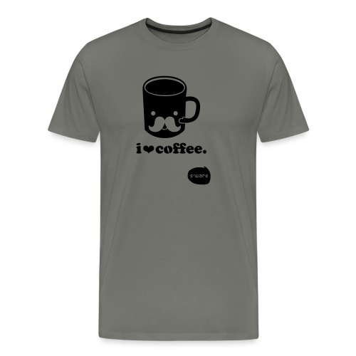 i love coffee - Männer Premium T-Shirt