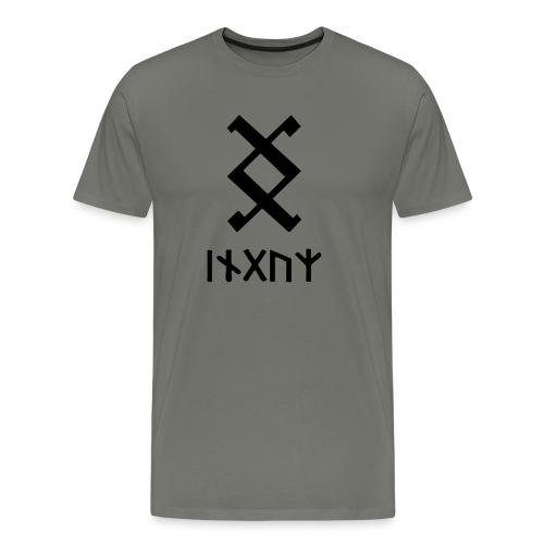 Wikinger Inguz - Männer Premium T-Shirt